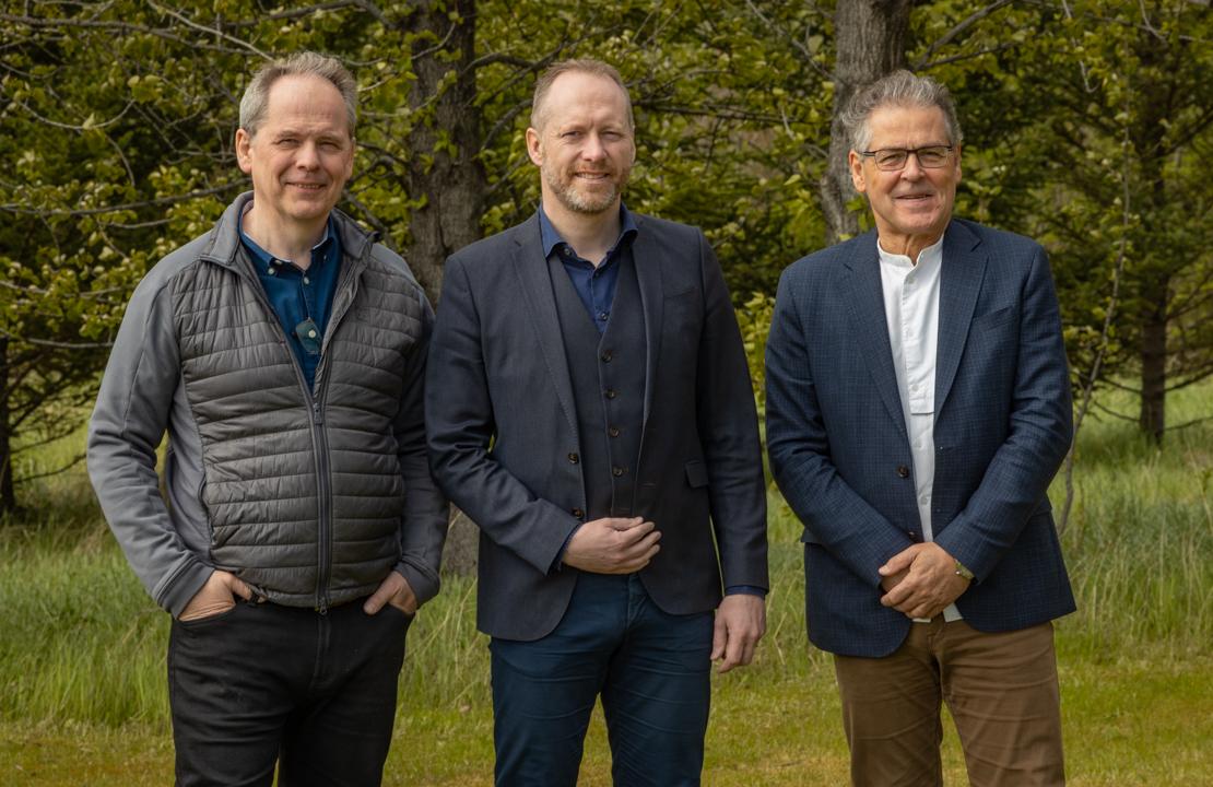 Magnús H. Jóhannsson sviðsstjóri, Guðmundur Ingi Guðbrandsson umhverfisráðherra og Árni Bragason landgræðslustjóri 2