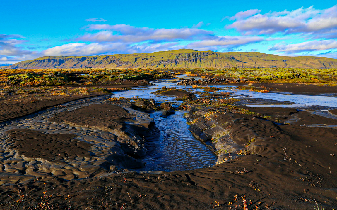 Framburður eftir Skaftárhlaup í Lakahrauni